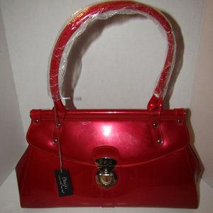 NWT BEIJO Women's Bag Sz Large Beautiful Red